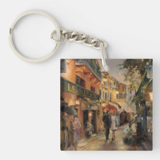 Porte-clés Une soirée à Paris