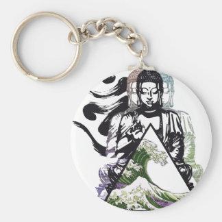 Porte-clés vague 2 de Bouddha