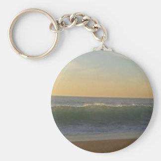 Porte-clés vague claire d'été
