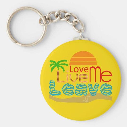Porte-clés Valentin Keychain - Sea Sun Love