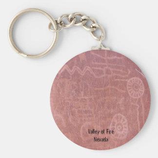Porte-clés Vallée du porte - clé II du feu