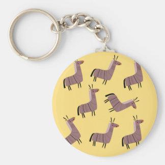 Porte-clés Vanille de lamas