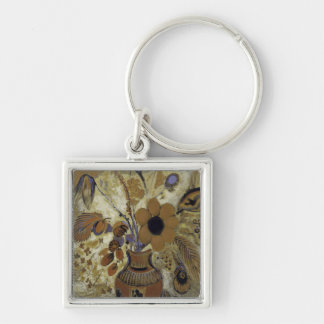 Porte-clés Vase à Etruscan avec des fleurs