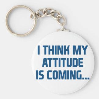Porte-clés Venir d'attitude