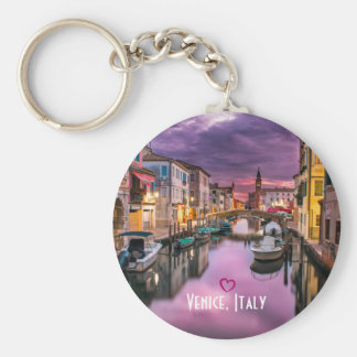 Porte-clés Venise, canal pittoresque de l'Italie et
