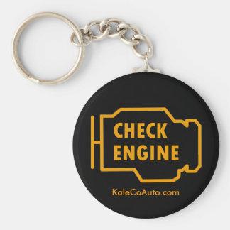 Porte-clés Vérifiez le porte - clé de moteur