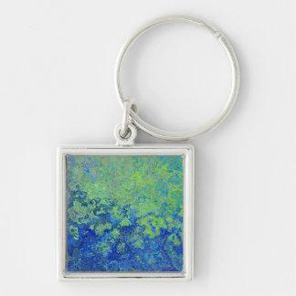 Porte-clés Vert bleu