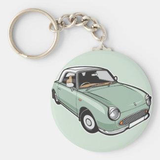 Porte-clés Vert vert de Nissan Figaro