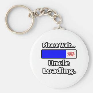 Porte-clés Veuillez attendre… oncle Loading