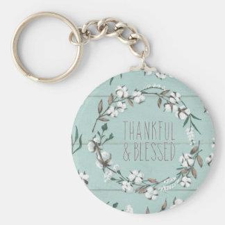 Porte-clés VI menthe bénie | reconnaissant et béni