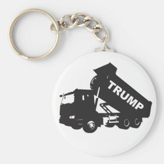 Porte-clés Videz l'atout - camion à benne basculante
