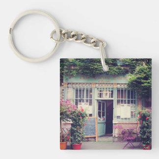 Porte-clés Vieille ville vintage Paris