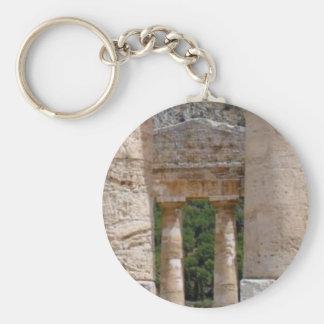 Porte-clés vieilles ruines de pierre