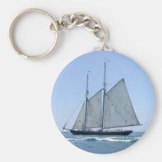 Porte-clés Vieux porte - clé de bateau à voile