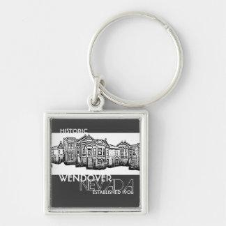 Porte-clés Vieux porte - clé historique de ville de Wendover