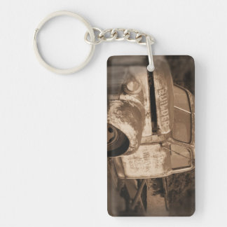 Porte-clés Vieux porte - clé rouillé retiré de camion
