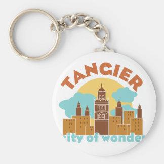 Porte-clés Ville de Tanger de merveille