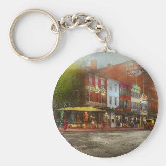 Porte-clés Ville - Washington DC - la vie sur 7ème St 1912