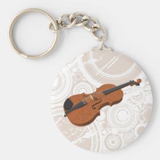 Porte-clés Violon : modèle 3D : Porte - clé