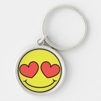 Porte-clés Visage d'amour