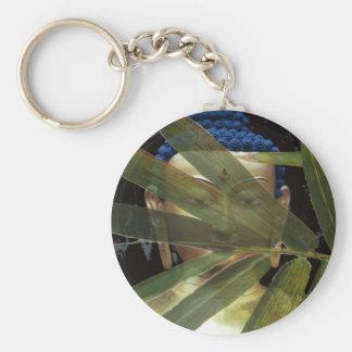 Porte-clés Visage de bambou de Bouddha