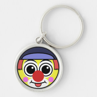 Porte-clés Visage de clown