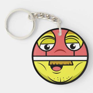 Porte-clés Visage de héros