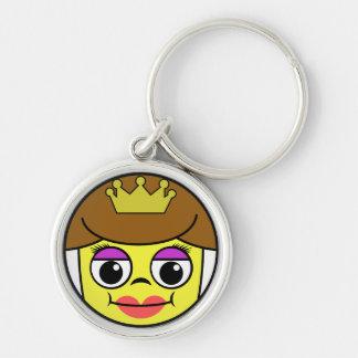 Porte-clés Visage de la Reine