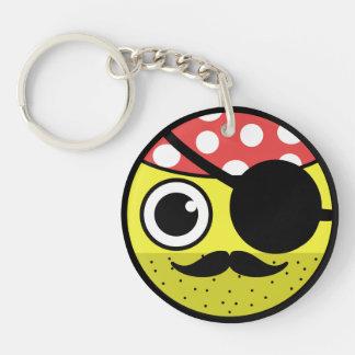 Porte-clés Visage de pirate