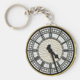 Porte-clés Visage d'horloge de Big Ben