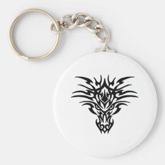 Porte-clés Visage-Dragon-Tatouage