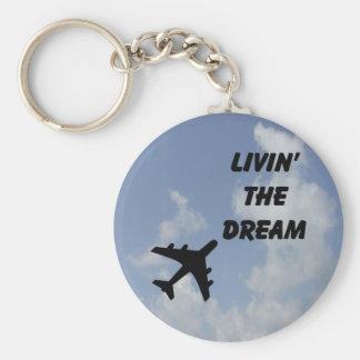Porte-clés Vivant le porte - clé rêveur de nuage