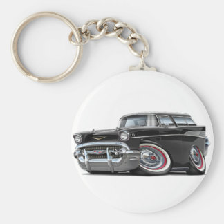 Porte-clés Voiture 1957 de noir de nomade de Chevy