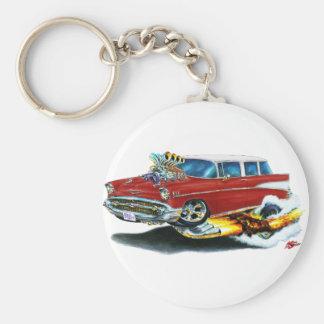 Porte-clés Voiture 1957 de rouge foncé de nomade de Chevy