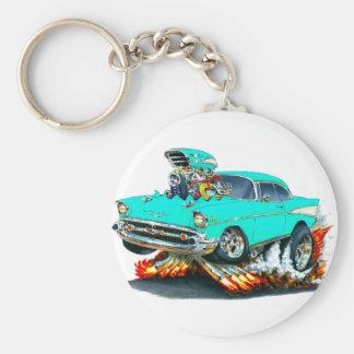 Porte-clés Voiture 1957 de turquoise de Chevy Belair