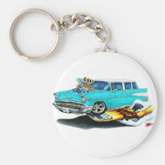 Porte-clés Voiture 1957 de turquoise de nomade de Chevy