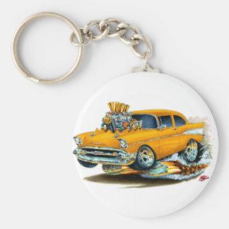 Porte-clés Voiture 1957 orange de Chevy 150-210