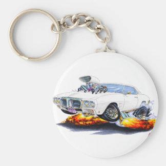 Porte-clés Voiture 1969 de blanc de Firebird