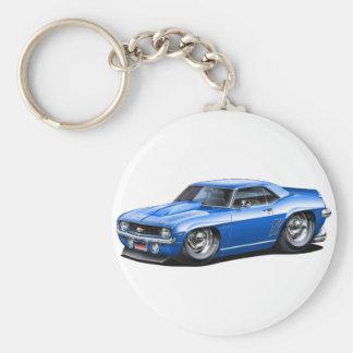 Porte-clés Voiture 1969 de bleu de Camaro solides solubles