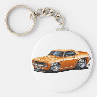 Porte-clés Voiture 1969 d'orange de Camaro