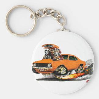 Porte-clés Voiture 1969 d'orange de Camaro solides solubles