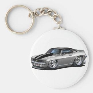Porte-clés Voiture 1969 Gris-Noire de Camaro