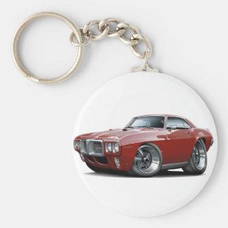 Porte-clés Voiture 1969 marron de Firebird
