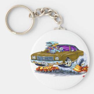 Porte-clés Voiture 1970 de Monte Carlo Brown