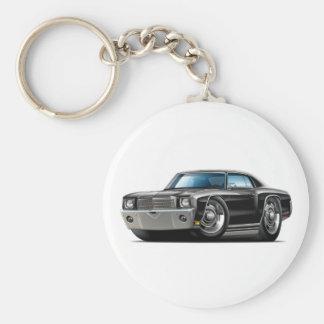 Porte-clés Voiture 1970 noire de Monte Carlo