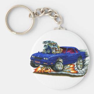 Porte-clés Voiture 1983-88 de bleu de Monte Carlo