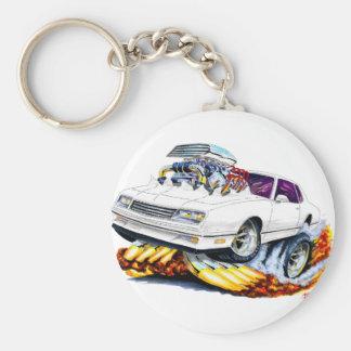 Porte-clés Voiture 1986-88 de blanc de Monte Carlo