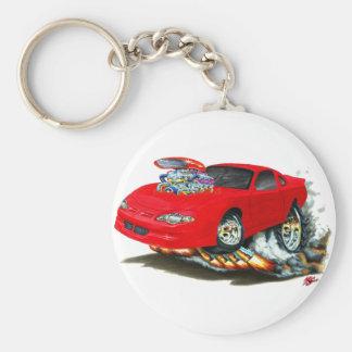 Porte-clés Voiture 2000-05 de rouge de Monte Carlo
