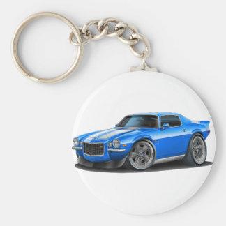 Porte-clés Voiture bleue/blanche de Camaro 1970-73