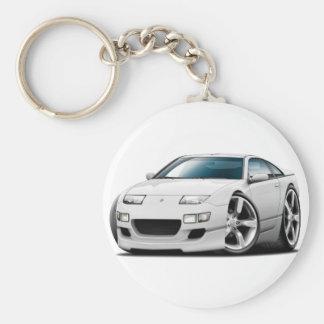 Porte-clés Voiture de blanc de Nissan 300ZX